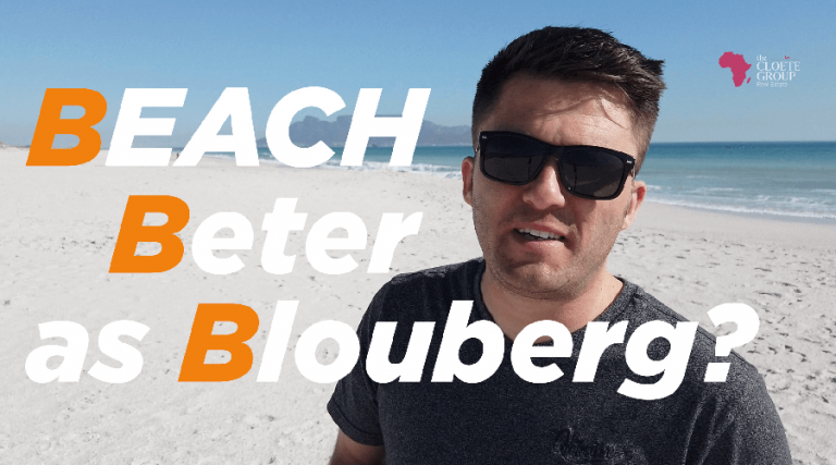 Beach better than Blouberg?